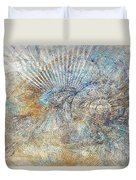 Abstraction 476-09-13 Marucii Duvet Cover
