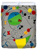 Abstraction 575 - Marucii Duvet Cover
