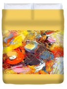 Abstraction 586-11-13 Marucii Duvet Cover
