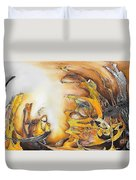 Abstraction 589-11-13 Marucii Duvet Cover