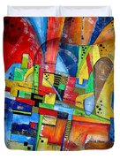 Abstraction 599-14 - Marucii Duvet Cover
