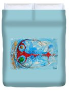 Abstraction 61 Duvet Cover