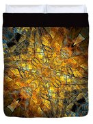 Abstraction 634-12-13 Marucii Duvet Cover