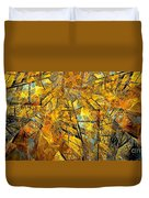 Abstraction 635-12-13 Marucii Duvet Cover