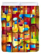 Abstraction 747 - Marucii Duvet Cover
