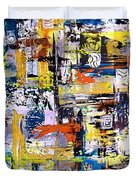 Abstraction 759 - Marucii Duvet Cover