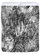 Abstraction B-w 0554 - Marucii Duvet Cover