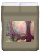 Abstracty Crows Feet Crop Duvet Cover