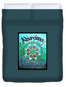 Abundance Money Magnet - Healing Art Duvet Cover