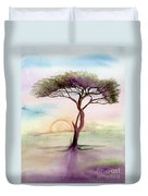 Acacia Sunrise Duvet Cover