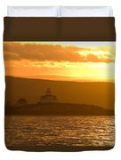 Acadia Lighthouse  Duvet Cover