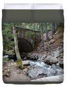 Acadia National Park Carriage Road Bridge Duvet Cover