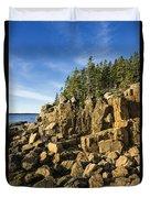 Acadia Seascape Duvet Cover