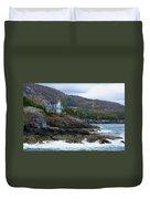 Acadia Seaside Mansion Duvet Cover