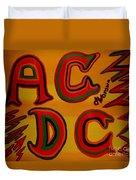 Acdc Duvet Cover