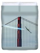Ace Maker And The Golden Gate Duvet Cover