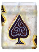 Ace Of Spades Duvet Cover