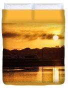 Acela Sunset Duvet Cover
