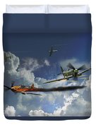 Aces High Duvet Cover