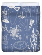 Acetabularia Caraibica And Chondria Intricata Duvet Cover by Aged Pixel