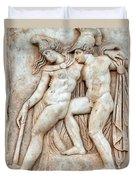 Achilles And Penthesilea Duvet Cover