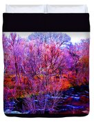Acid By The Creek Duvet Cover
