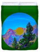 Acid Desert Orb 2 Duvet Cover