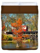 Across The Bridge Duvet Cover