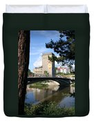 Across The River Duvet Cover