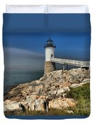 Across The Seas Duvet Cover