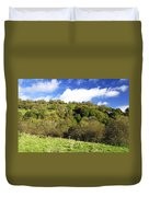 Across The Southern End Of Monk's Dale Duvet Cover