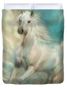 Across The Windswept Sky Duvet Cover