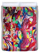 Acrylic Msc 042 Duvet Cover