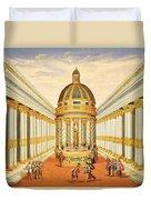 Bacchus Temple Duvet Cover
