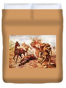 Acting-bombardier H.a. Creasey Duvet Cover