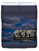 Ad Space Available Duvet Cover