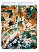Adagietto - Exhibition Of Paintings. Belgrade. Ozone Gallery June 16-27. Duvet Cover