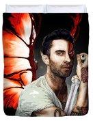 Adam Dragon Warrior Duvet Cover