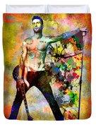 Adam Levine - Maroon 5 Duvet Cover