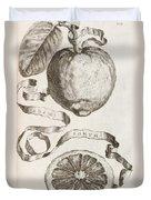Adam's Apple Duvet Cover by Cornelis Bloemaert