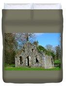 Adare Chapel Ruins Duvet Cover