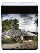 Adelaide River Railway Station Duvet Cover