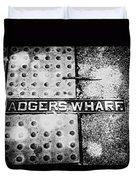 Adgers Wharf Duvet Cover