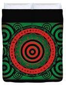 Adinkra Disk Pan-african II Duvet Cover
