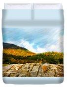 Adirondack Autumn Duvet Cover