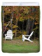 Adirondack Foliage Duvet Cover