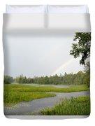 Adirondack Rainbow Treat Duvet Cover
