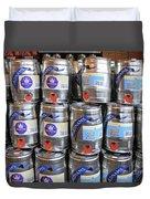 Adnams Jubilee Beer Keg Duvet Cover