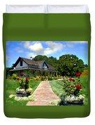 Adobe Alamo Pintado Rideau Vineyards Duvet Cover