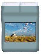 Adobe House Duvet Cover
